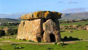 sa coveccada dolmen in sardinia